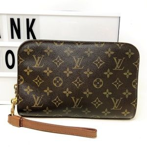 Louis Vuitton Orsay Monogram clutch wristlet Bag